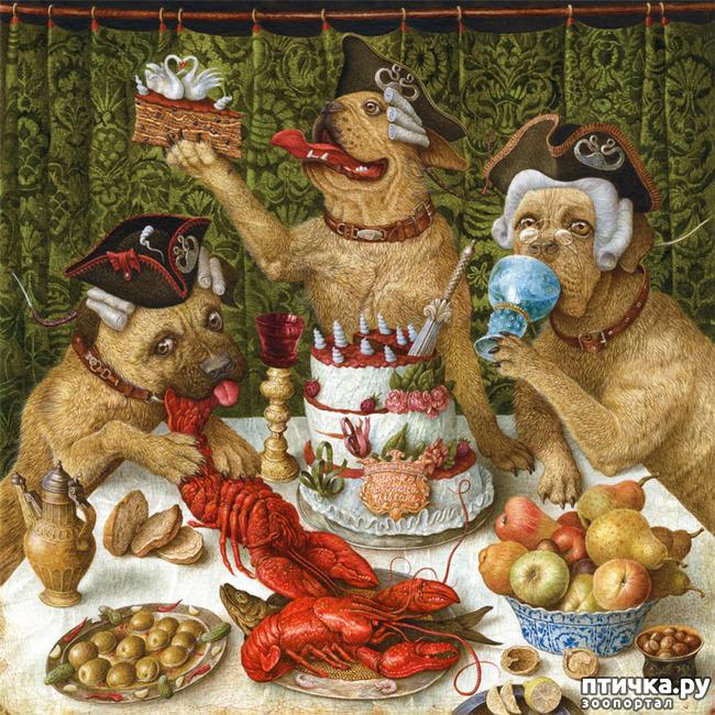 фото 20: И снова о собаках в живописи