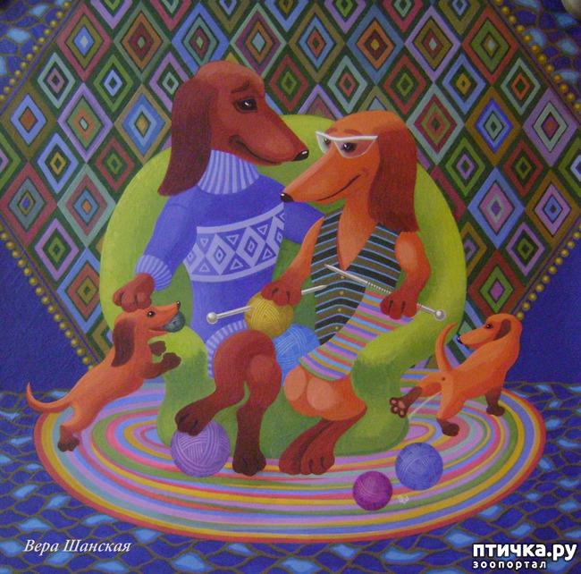 фото 15: И снова о собаках в живописи