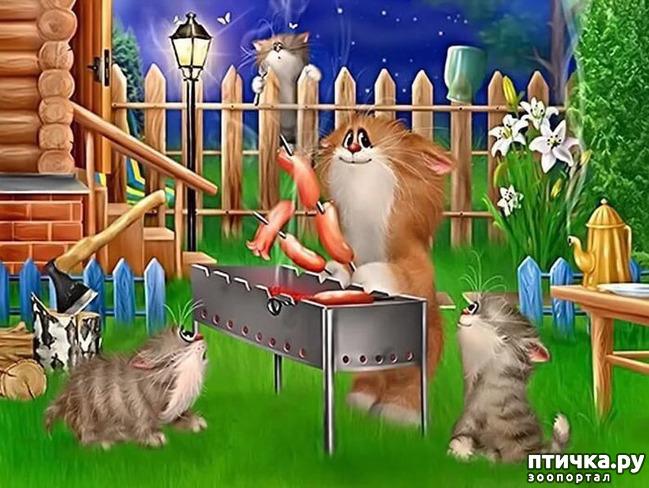 фото 5: Художник Алексей Долотов. Жил забавный рыжий кот…