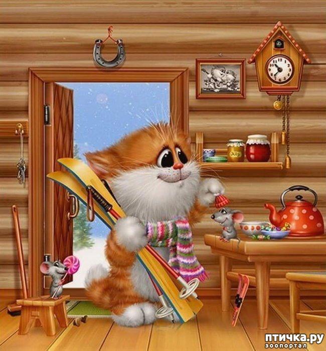 фото 13: Художник Алексей Долотов. Жил забавный рыжий кот…
