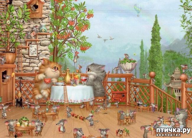 фото 18: Художник Алексей Долотов. Жил забавный рыжий кот…