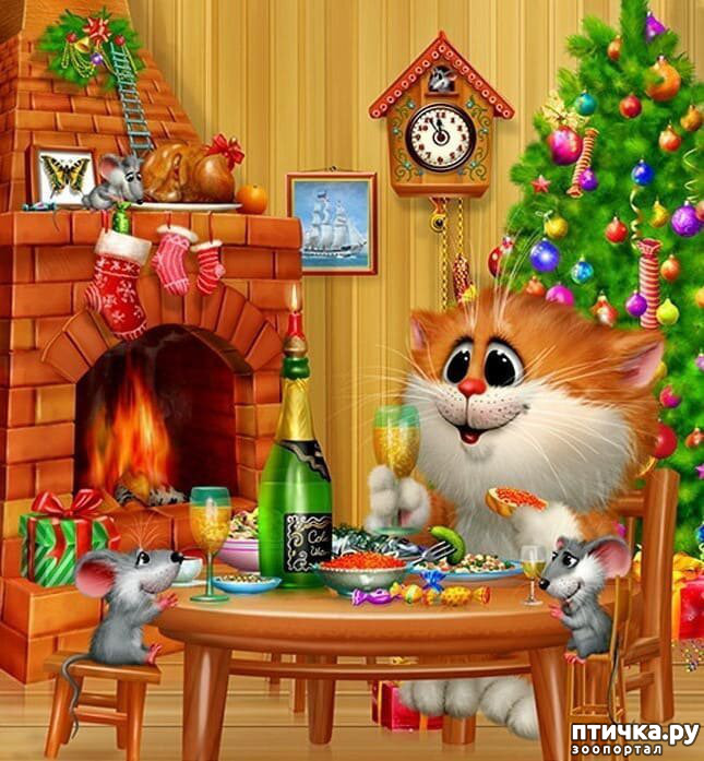 фото 23: Художник Алексей Долотов. Жил забавный рыжий кот…