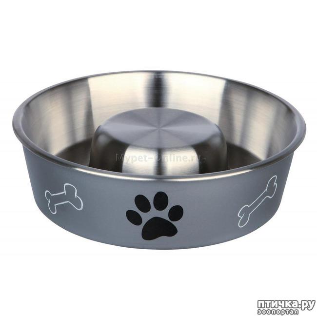фото 6: Чем вредно для собаки быстро есть? Миска для торопыжки.