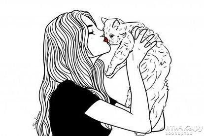 фото 2: Кого наши кошки и коты выбирают себе в любимчики?