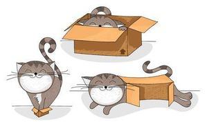 фото: Ну, не странные ли кошки?