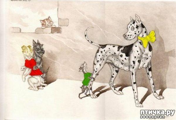 фото 9: В догонку к рисункам с синими котами. Карикатурные рисунки с собачками