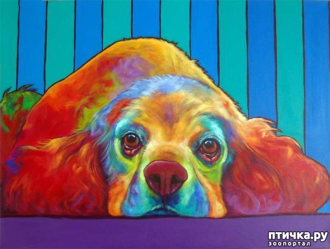 фото 4: Собаки в современной живописи