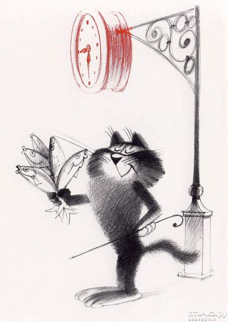 фото 9: Внимание, обнаружен новый котохудожник!