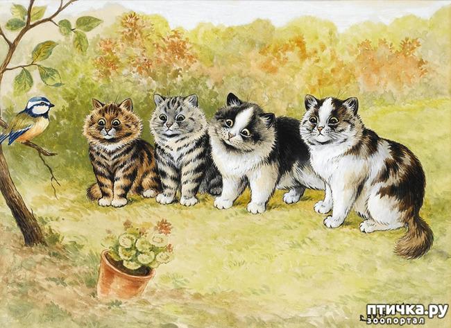фото 4: Художники и их кошки. Часть 3