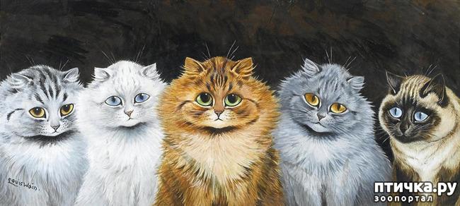 фото 5: Художники и их кошки. Часть 3