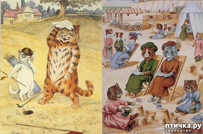 фото 7: Художники и их кошки. Часть 3