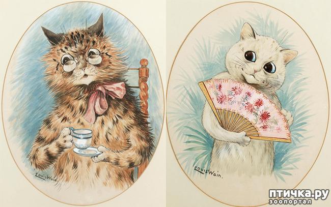 фото 8: Художники и их кошки. Часть 3