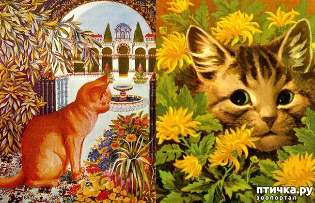 фото 9: Художники и их кошки. Часть 3