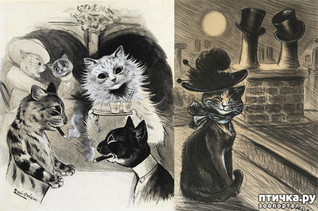 фото 10: Художники и их кошки. Часть 3