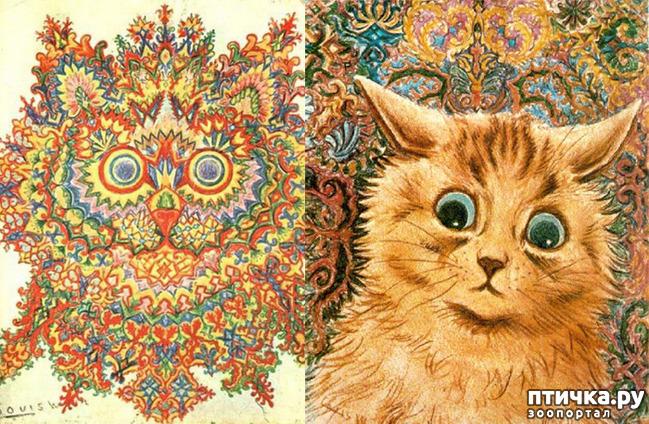фото 13: Художники и их кошки. Часть 3