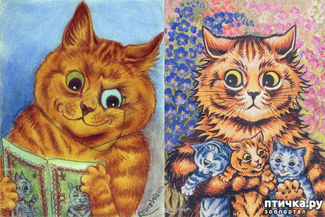 фото 14: Художники и их кошки. Часть 3