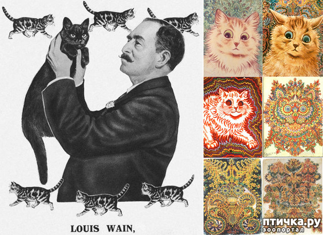 фото 18: Художники и их кошки. Часть 3