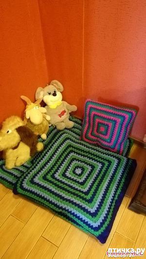 фото: Новые подушечки-лежанки для Лесюни.
