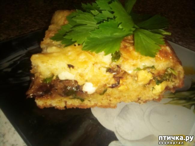 фото 11: Заливной пирог с капустой. Просто, вкусно и бюджетно.