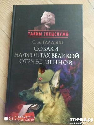 """фото: С. Д. Гладыш """"Собаки на фронтах Великой Отечественной"""""""